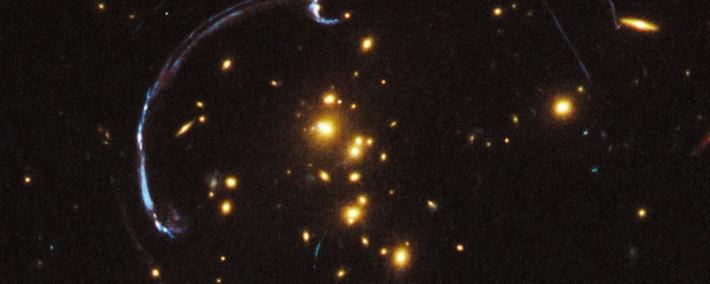 The effect of the gravitational lens