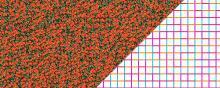 Endless recurring or textures using mosaic Wang