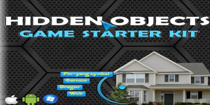 Hidden Objects game - Starter Kit