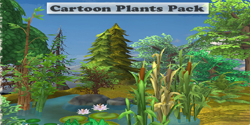 Cartoon Plants Pack