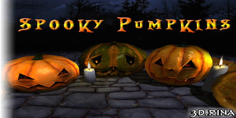 Breakable Spooky Pumpkins