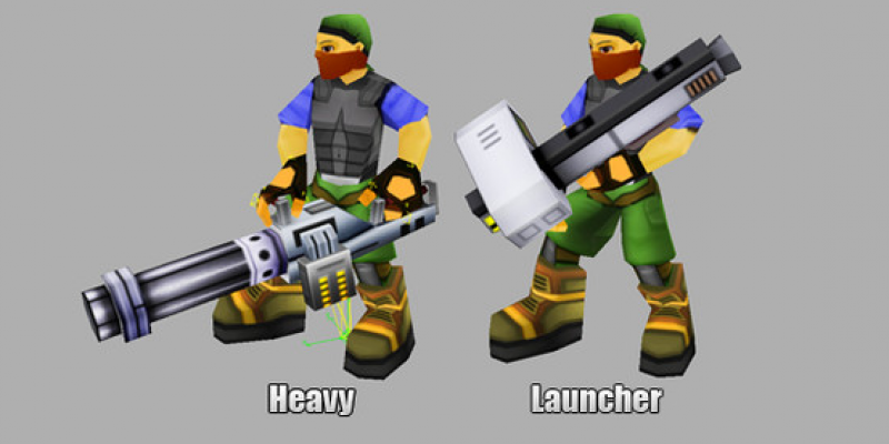 Soldier Animation Pack