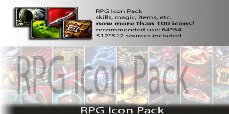 RPG Icon Pack Deluxe