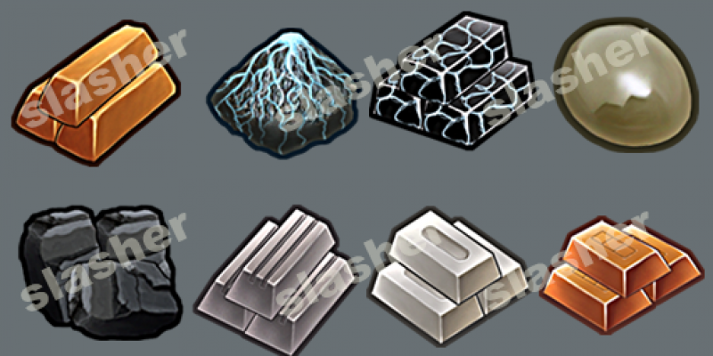 Resource Icons Set