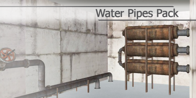 Water Pipes Pack