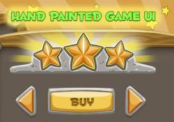 Hand Painted Game UI Skin
