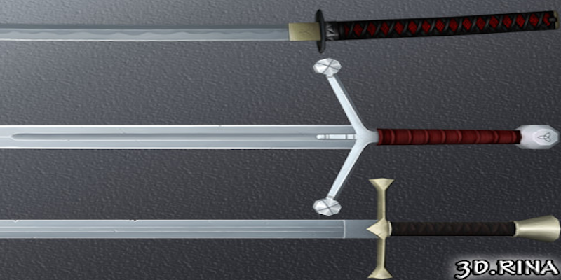 Hand Painted Swords Pack