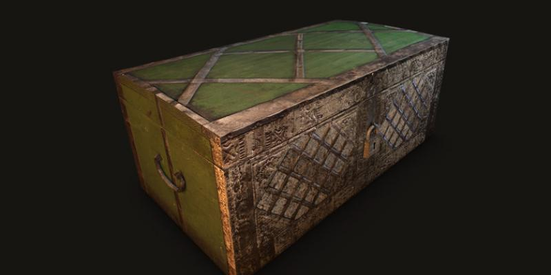 Animated Old Chest
