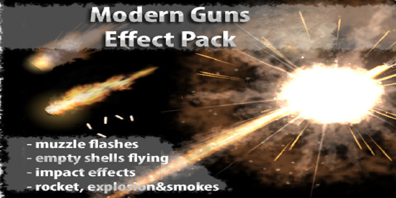 Modern Gun Effect Pack | Union Assets - Dev Assets Marketplace