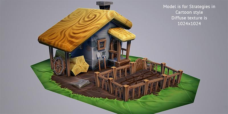 Cartoon Fantasy Farm