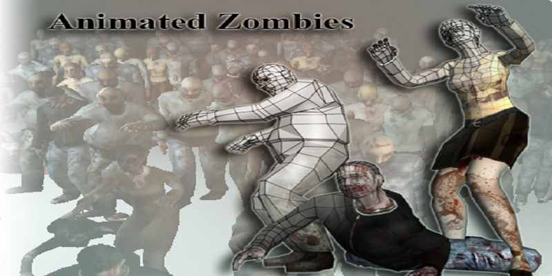 Animated Zombie Pack