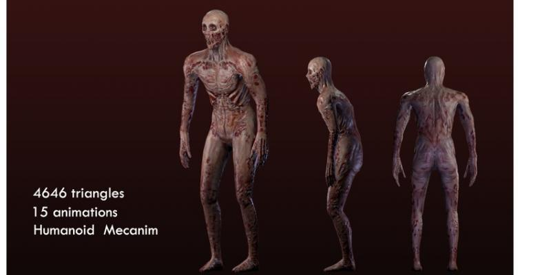 Melty Zombie