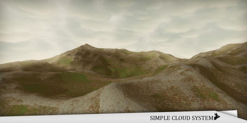 Simple Cloud System by RM