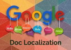 Google Doc Localization