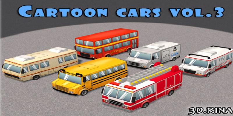 Cartoon Cars Vol. 3