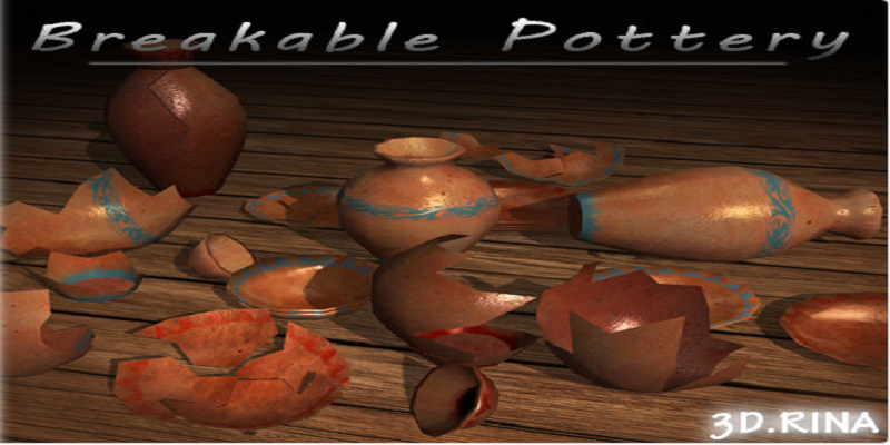 Ancient Breakable Pottery