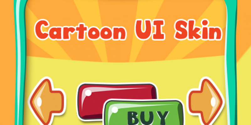 Cartoon UI Set