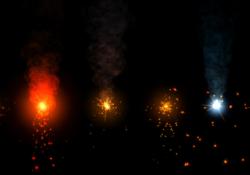 Sparkles Particle Set