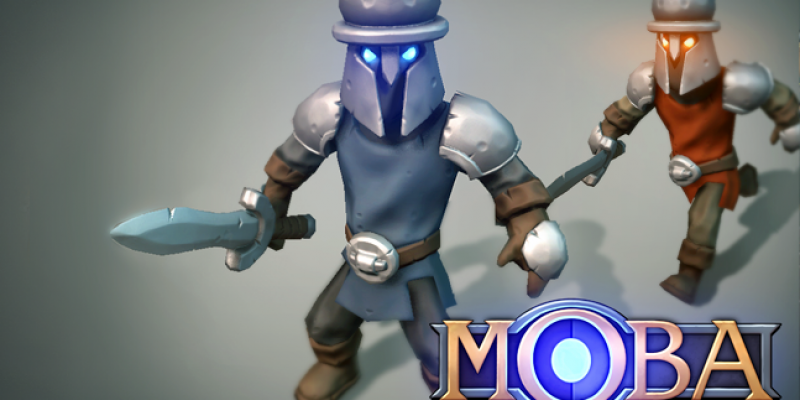 MOBA Melee Creep