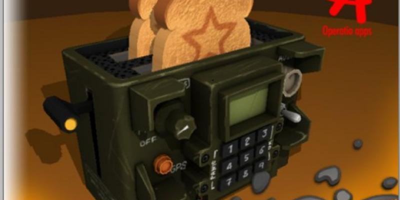 Military Styled Toaster