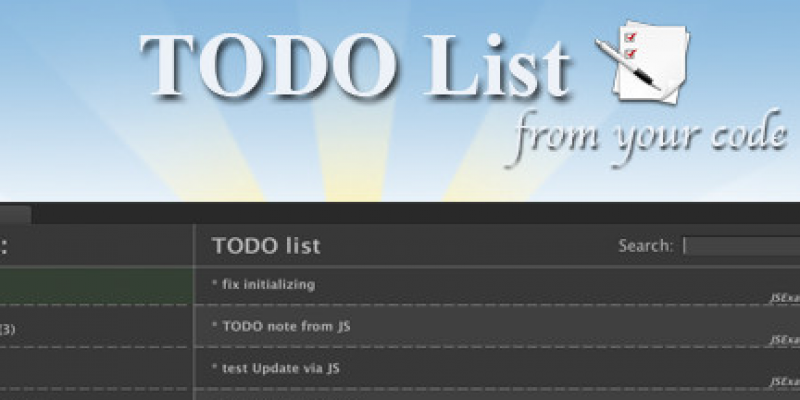 TODO List (from code)