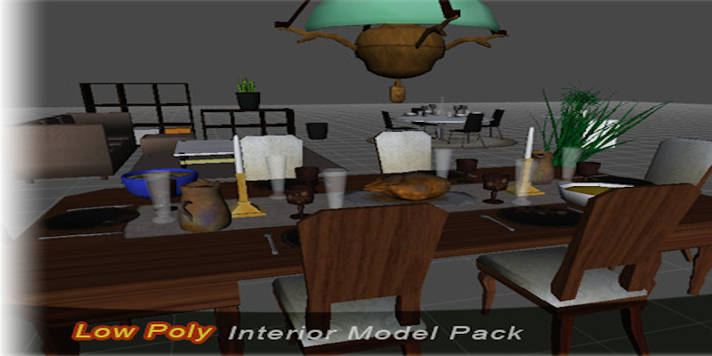 Base Mesh: Interior Model pack