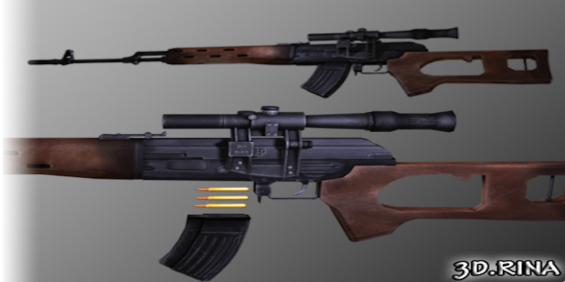 Sniper Rifle (SVD)