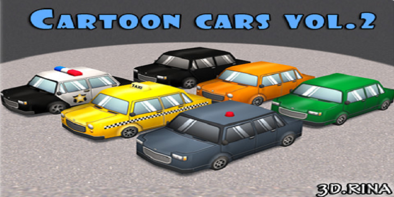 Cartoon Cars Vol. 2