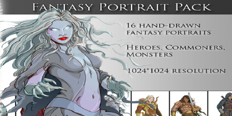 Fantasy Portrait Pack