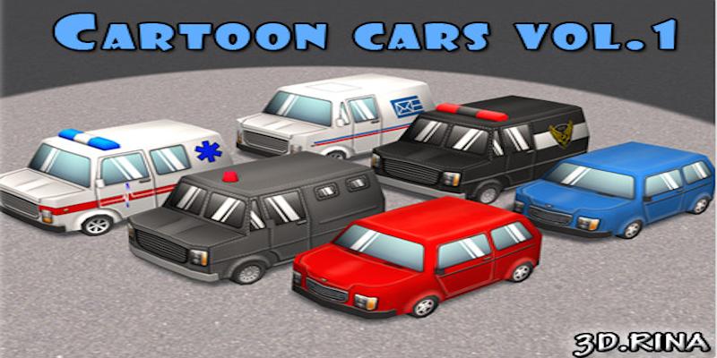 Cartoon Cars Vol. 1