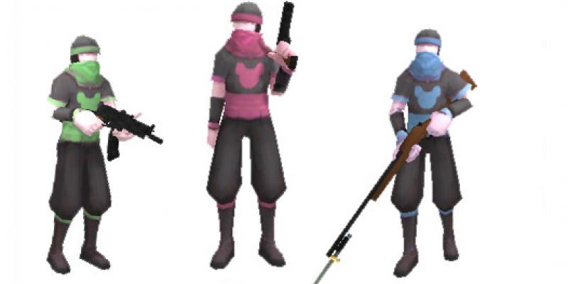 Gun Hero 3in1