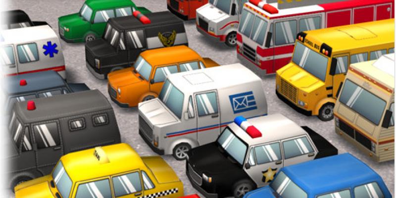 Cartoon Cars Mega-Pack