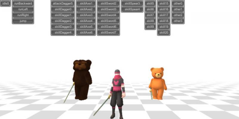 Mecanim HeroMale 90 Animations
