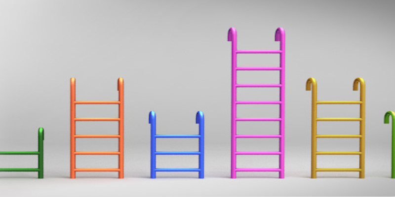 Colorful Steel Ladder Pack