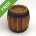 Simple Wooden Barrel Pack