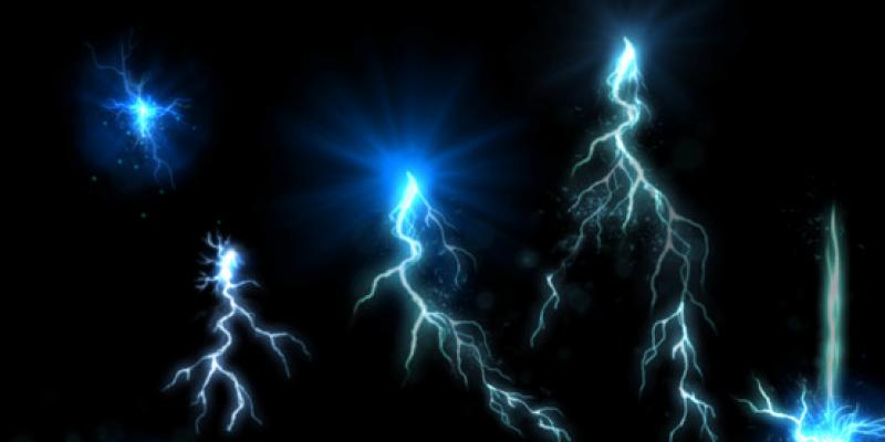 Electro Particles Set