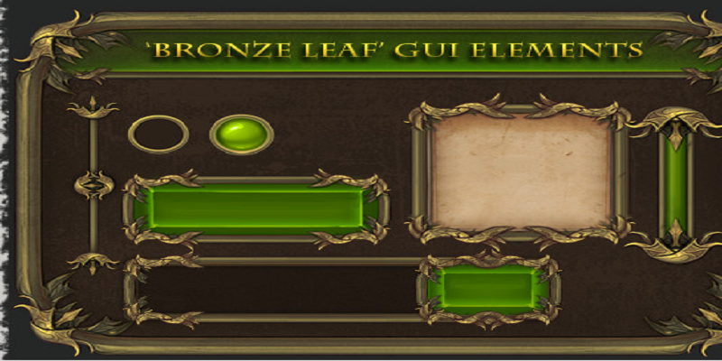 GUI - Bronze Leaf