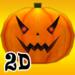2D Spooky Pumpkins