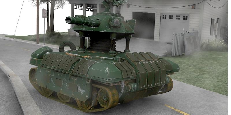 drone tank