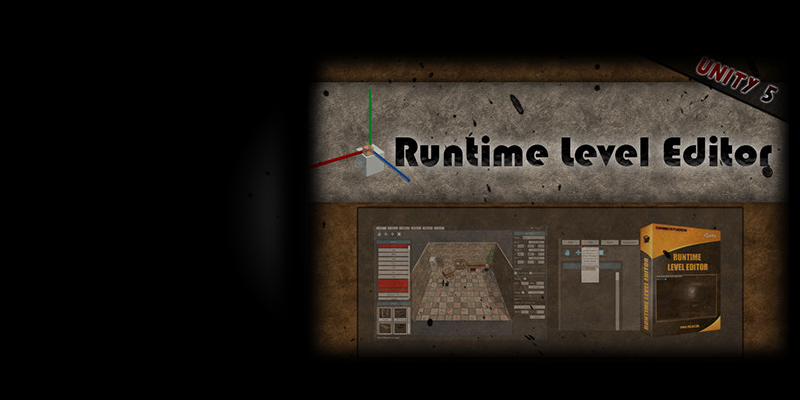 Runtime Level Editor [Unity 5.x]