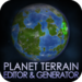 Planet terrain Editor & Generator